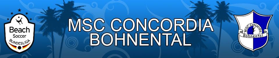 MSC Concordia Bohnental